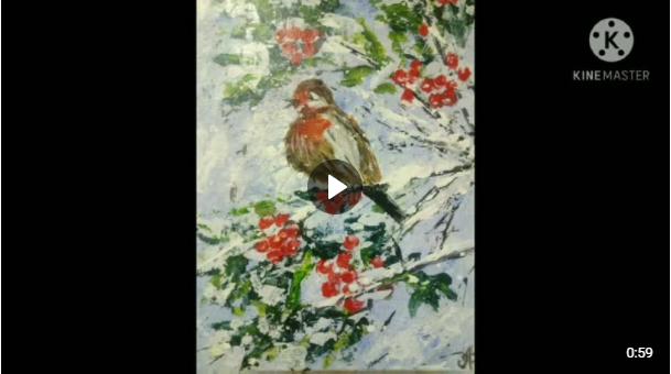 «О зиме читали, рисунки рисовали»