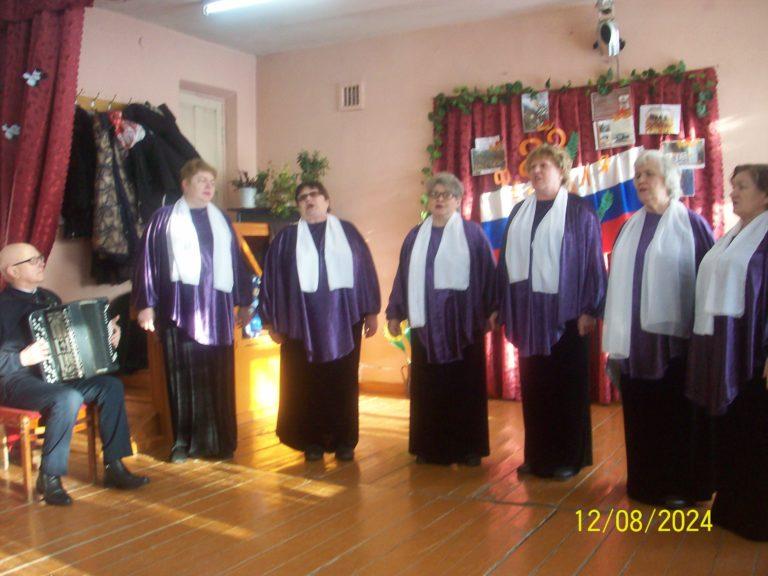 Праздничный концерт посвящённый Дню защитников Отечества